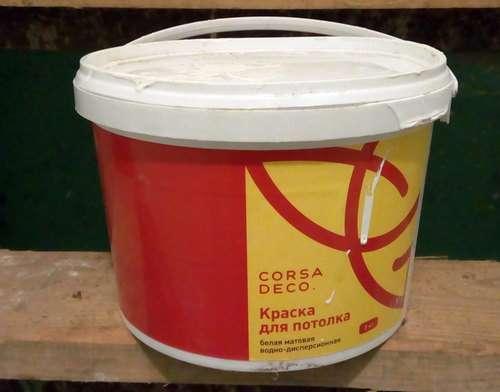 Corsa deco краска для потолков