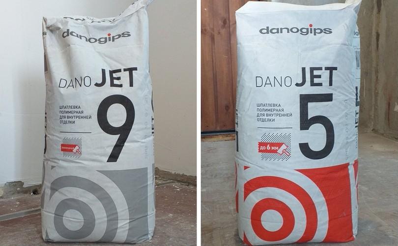 danogips dano jet 9 5 шпаклевка отзыв