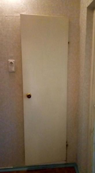 Стандартные двери ванной туалета 137 серии