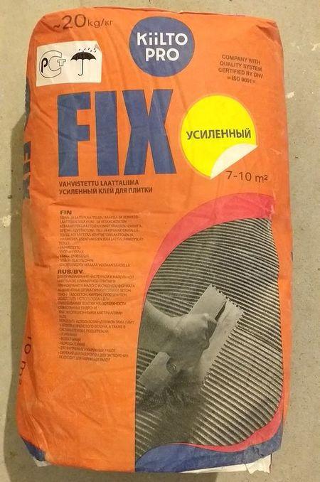 kiilto fix клей плиточный отзыв
