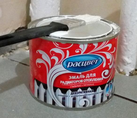 отзыв Расцвет эмаль для радиаторов