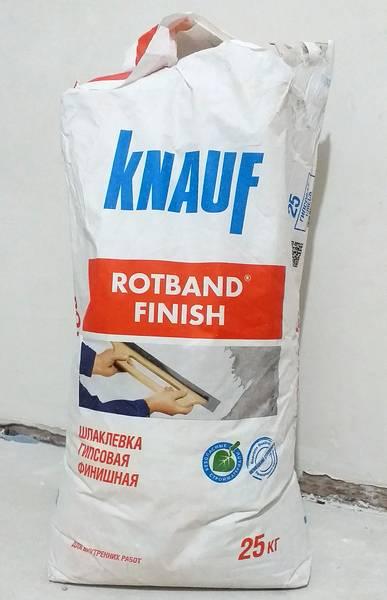 Rotband finish гипсовая шпаклёвка отзыв