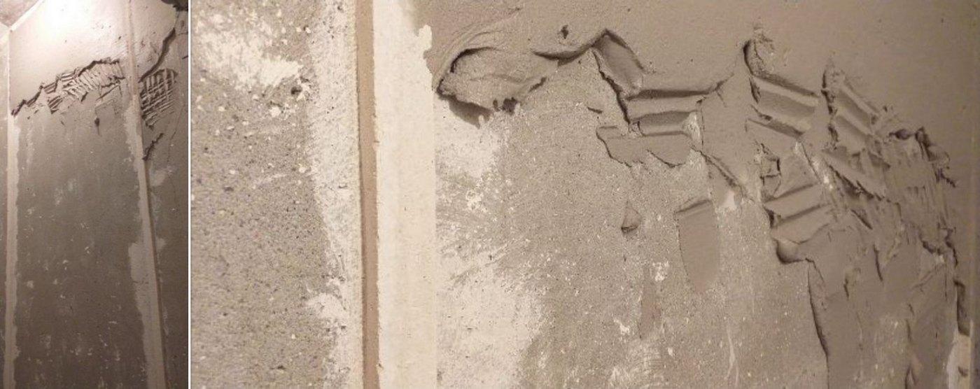 штукатурка стен в туалете 137 серии
