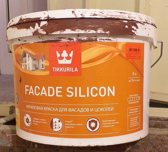 tikkurila fasade silicon отзывы