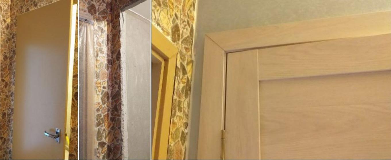 Расширение дверей в санузлах 137 серии