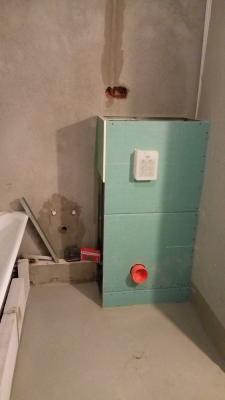 процесс ремонта санузла в Кудрово