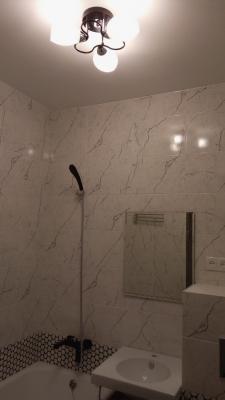дизайн ремонта ванной в новостройке