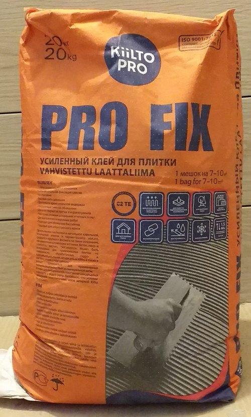 kiilto pro fix плиточный клей отзыв