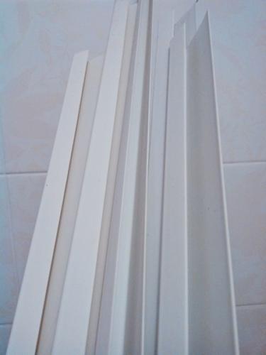 Направляющие стартовые профили ПВХ 10 мм для панелей