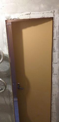 Дверной проём в ванной 137 серии до расширения