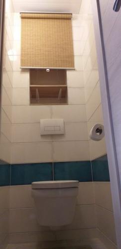 Полки за унитазом в туалете 137 серии