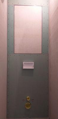 короб гкл с инсталляцией с люком туалет 137 серии