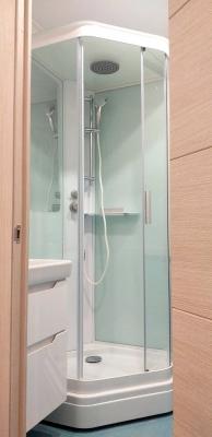 душевая кабина в ванной 137 серии