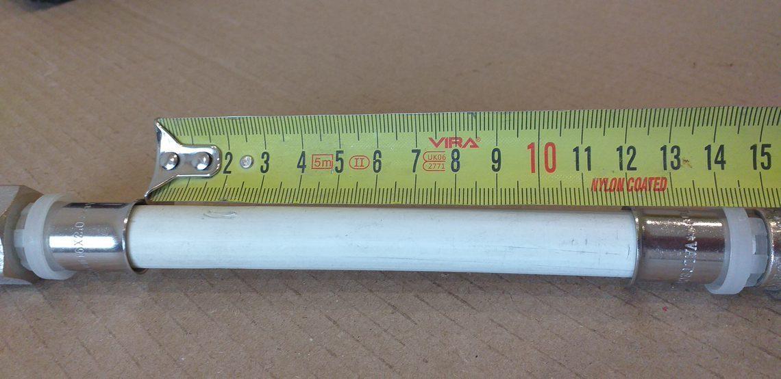 Расстояние между фитингами на металлопластиковой трубе