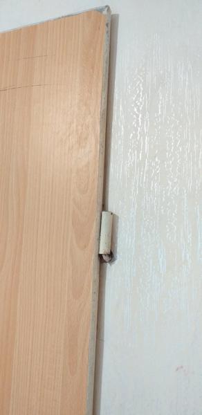Петля и крюк из стены в санузлах 137 серии