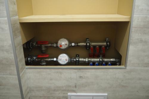 Водопровод санузла в панельном доме