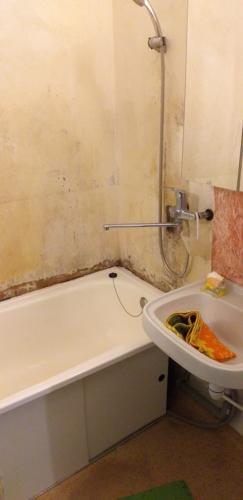 Ремонт под ключ ванной в панельном доме
