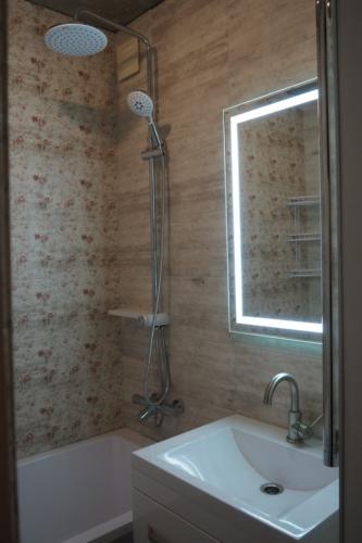 Ванная в панельном доме ремонт